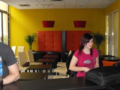 Pelso Cafeé Balatonfüred, TESCO áruház